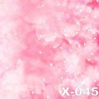 background cloth for photography - 125X150cm pink blossoms photography background muslin for baby photos computer printed photography backdrop vinyl digital backdrops cloth