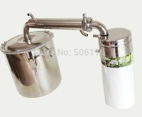 alcohol free spirits - Free ship L Gal Alcohol Distiller Spirits Brewing Ethanol Moonshine Stainless Boiler