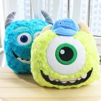Wholesale Popeye cartoon blue wool strange pillow quilt dual Queen is pillow cushions blanket air conditioning was being nap