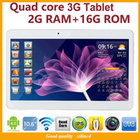 Wholesale New Inch Tablet PC Inch G Tablets Quad core Android G RAM G ROM G GPS Bluetooth Built in Dual SIM Card Slot with IPS Screen