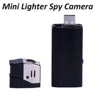 Wholesale Mini Lighter Cameras Full HD P Mini DV Lighter Digital DVR Hidden Camera USB Mini Lighter DV Camcorder Video Photo Recorder