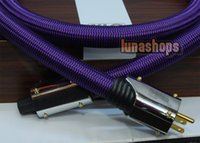 Cheap XLO Purple Rush Power Pure Copper cable For Tube amplifier CD Player 2m