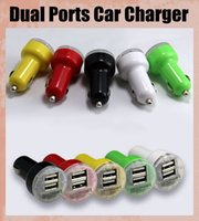 Cheap colorful 2 Port Dual USB Best USB Car Charger