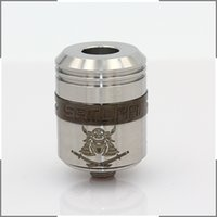 metal o rings - Samurai RDA Rebuildable Dripping Samurai Atomizer Colors Stainless Steel with Wide Bore Drip Tip Single AFC O Ring Promotion Price Newest