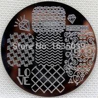 beauty disks - retailQgirl1 nail art image plate nail template CHOOSING DESIGNS nail beauty TOOLS nail disk