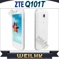 Wholesale Original ZTE Q101T Android Cell phone SC8810 Single Core With Inch QHD IPS Screen MP Single Camera Dual Band Dual Sim Phones