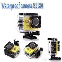 Wholesale Original GS180 Action Sport Camera Helmet professional camera M Waterproof P HD MP Sport DV go pro style Camera