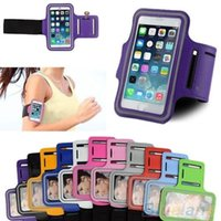Wholesale Sports Adjustable Arm Band Armband Gym Equipment Case Cover For iPhone Plus CQ