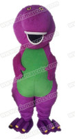 Mascot Costumes barneys suits - AM0645 Barney mascot costume Fur mascot Cartoon Character mascot suit