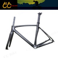 Wholesale T700 Full carbon Disc brake Frame Full Carbon Bicycle Frame C Road Bike Frame With Front Fork CC CR D Free Ship