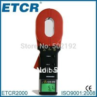 Wholesale Hot Sale ETCR2000 Clamp On Ground Earth Resistance Tester Meter