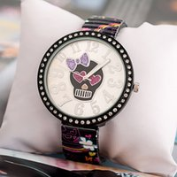 amethyst powers - 2015 New Fashion Ladies Steel Crystal Diamond Rhinestone Watches Women Beauty Dress Quartz Wristwatch Hours Reloj Mujer