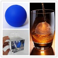 Wholesale Star Wars silicone Death Star Ice Sphere Mold Silicone Ice Cube blue Star wars ice mould new
