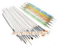 basic drawing - Discount Promotions Basic Nail Art Design Painting Dotting Pen Nail Draw Pen Brush Nail Art Tool Set