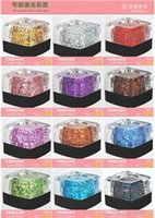 Cheap Nail Art tool Gel nail polish Removable glue phototherapy plastic color light therapy gel nail glue wholesale diamond glitter gel