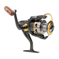 Wholesale New BB Ball Bearings Left Right Interchangeable Collapsible Handle Carp Fishing Spinning Reel DK5000
