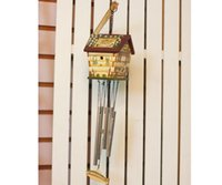 american bird houses - Recommended manufacturers cheap American country style painted bird house wind chimes FX
