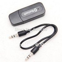 Wholesale USB Bluetooth Music Receiver Adapter mm Stereo Audio for iPhone4 S Mp3