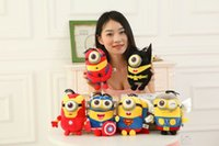 Wholesale Minion Plush Kid Toys Despicable Me Soft Cloth Suffed Doll The Avengers Christmas Gift For Kids S3078