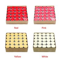 Wholesale New arrive one Tealights Tea Lights Candle Unscented Wedding Party decoration Home decor