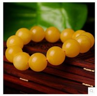 baltic amber stone - Featured Baltic Chanterelle Huanglao lap beeswax beads bracelets bracelet male and female models imported amber stone
