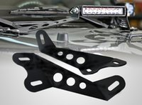 Wholesale hot Pair Jeep Wrangler JK Inch Led Light Bar Hood Mounting Brackets SUV fit your car