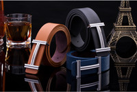Wholesale 2016 Top Fashion New Belts Adult Light Body Spot Embossing Rectangle Men s Belts Smooth Mouth Belt Ms Belt