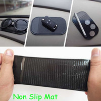 Wholesale Sticky Pad Re Useable Washable Anti Slip Mat non slip pad for car dashboard Smart phone DHL