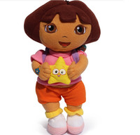 baby dora doll - quot cm New style so lovely Dora the Explorer with Star Extra Large Plush Doll dora explorer baby Toy