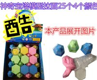 Cheap Ramen Wang magic crystal mud child clay color plasticine transparent scent pagoda noodles every family toy