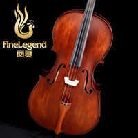 Wholesale Handmade jujube plate cello flc2111 musical instruments qin package bow new arrival