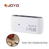 electric guitars amps - Joyo Electric Guitar Mini Headphone Guitar Amp Amplifier Built in Overdrive Effect Connecting for iPhone Samsung I464