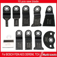 Wholesale 10pcs cutting Oscillating Tool saw blade fit for multifunction power tool such as FEIN Dremel TCH