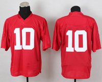Football Men Short 2014 New Football Team Jerseys #10 Player Jersey Red Color American Football Jerseys 2014 New Style Cheap Elite Football Kits Mix Order