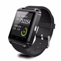 Wholesale Bluetooth U8 Smart Watch Wrist Watches With Altimeter for iPhone S S S Samsung S5 S6 Note Note HTC Android Phone In Gift Box
