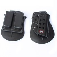 Wholesale Fobus and magazine Paddle Holster Combo Airsoft Paintball Belt Gun Holster CS Game Combat Gun Pouch