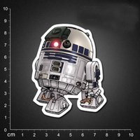 bb live - 2016 New Star Wars BB Robot Darth Vader Stormtrooper Suitcase wall stickers home decor PVC stickers Waterproof ipad car stickers