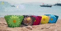 Wholesale Hot Selling Cute Straw Coin Bag Beach Handbag Floppy Sunflower Bag For Kids Children Assorted Color
