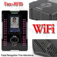 Wholesale Built in Ethernet Wireless Wifi Biometric Face Time Track Attendance Clock ZKTeco VF400