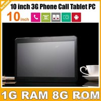 Cheap Cheap Tablet With FreeShipping 3g Call 10 Inch Tablet With Sim Card Slot MTK6572 Dual Core Android 4.4 GPS bluetooth Dual Camera PB10-G3