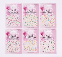 arm wrap tattoos - Many Kinds Design Nail Wraps Mixed design Nail Sticker Nail Seal Tattoo Nail art Decal Nail Patch Water Slide Temporary Tattoos Stickers
