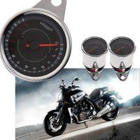 Wholesale D1U Universal Motorcycle LED Backlight Tachometer Speedometer Tacho Gauge f Motorcycle Bobber Cafe