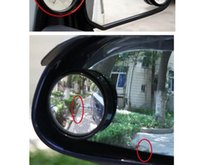 Wholesale 10pcs adjustable Convex Rear View mirror Blind Spot review mirror Wide Angle Round Convex review mirror for car