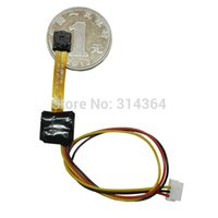 Wholesale DIY HD MP Mini Camera Module Black only mm quot CMOS MP DC V M T world s smallest miniature color camera