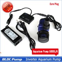Wholesale Aquarium Inverter Water Pump Euro Plug Excellent Variable Frequency Pump L H Speed be controlled by PWM Long life span