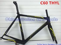 Wholesale Two years warranty newest full carbon fiber road bike frame Colnago C60 with fork seat post bicycle frameset colnago bike frames