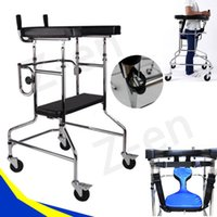 Wholesale Walk Support Rollator Walker Zimmer Walking Frame for Elderly Disabled Handicapped and Wounded Patient Stroke Rehabilitation