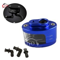 Wholesale Universal Blue Brake Oil Fluid Tank Cup Fits For Suzuki GSXR GSF Bandit