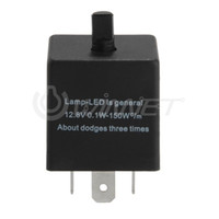 Wholesale Electronic LED Flasher Relay for Car Turn Signal Blinker Light Pin Adjustable