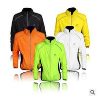 Wholesale 3 colors New WOLFBIKE tour de france cycling jackets soft skin coat windproof jacket riding long sleeve jerseys jackets LJJC1173